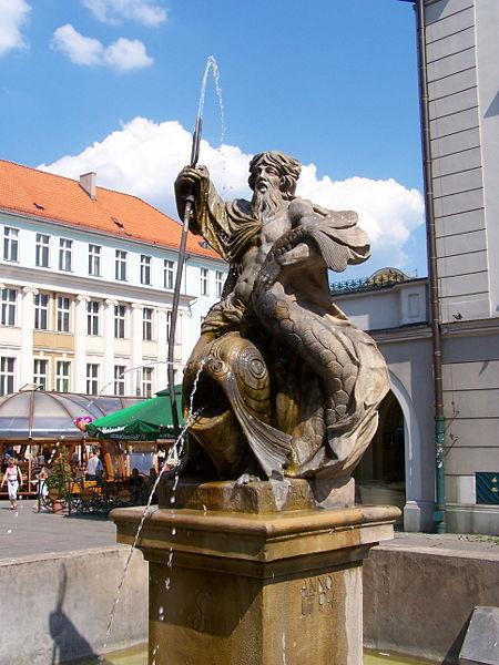 Gliwice Poland  city photos gallery : Neptune in Gliwice, Poland. Greek Mythology Photo 11300088 ...