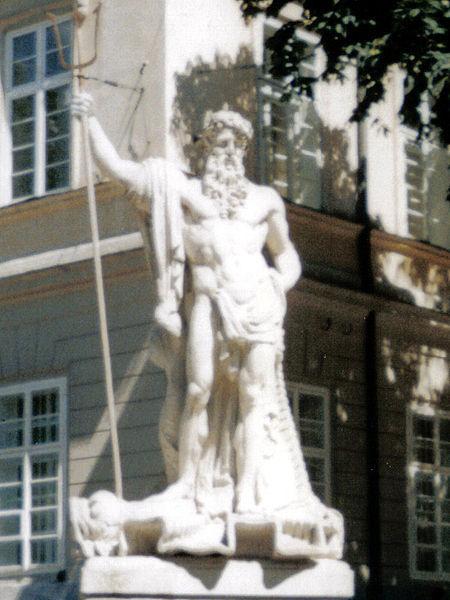 Neptune in Lviv, Ukraine.