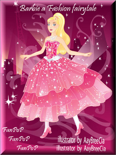 New!! búp bê barbie a Fashion fairytale
