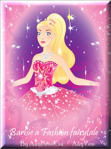 New!! Barbie a Fashion fairytale