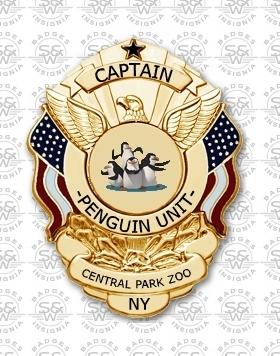 pinguïn Unit Badge