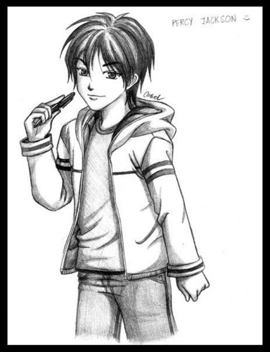 Percy Jackson Hermes Drawing Percy Jackson drawings...