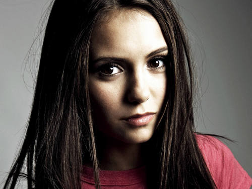 Pretty Nina Dobrev 바탕화면