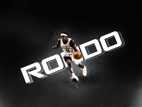 Rajon Rondo Hintergrund called RR