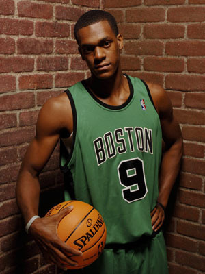 Boston Celtics Hintergrund titled Rajon Rondo
