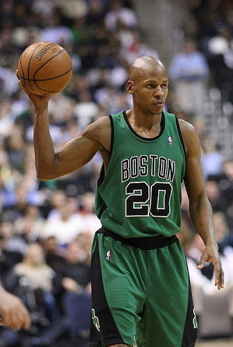 Boston Celtics Hintergrund called strahl, ray Allen