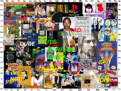 The 90s wallpaper titled Remember the 90s