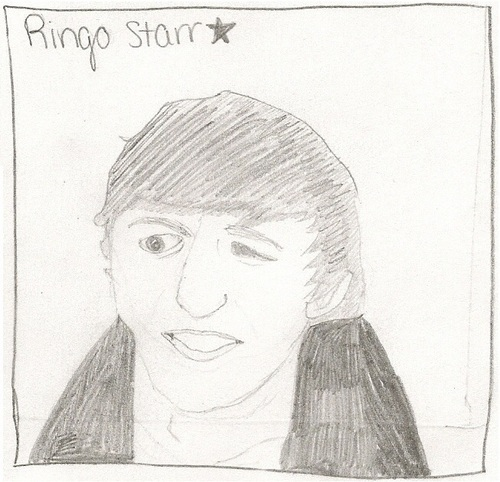 Ringo Starr Drawing