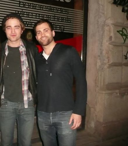 Rob with a peminat in Budapest