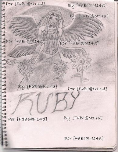 Ruby Tojo hand-drawn by my fabian14d