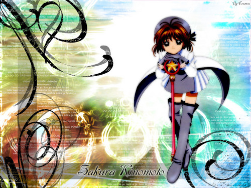 Cardcaptor Sakura پیپر وال called Sakura Kinomoto