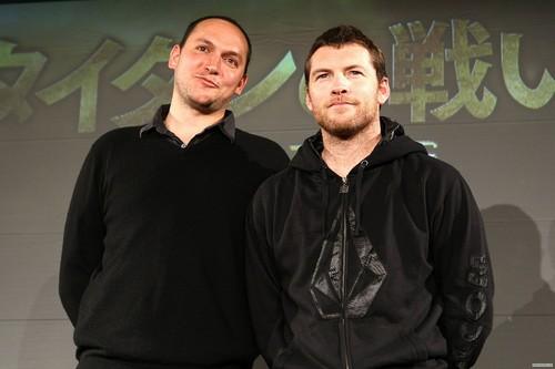 "Sam at ""Clash of the Titans"" Япония Press Conference (04.07.10)"