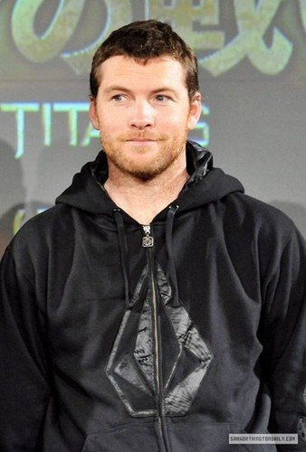 "Sam at ""Clash of the Titans"" 日本 Press Conference (04.07.10)"