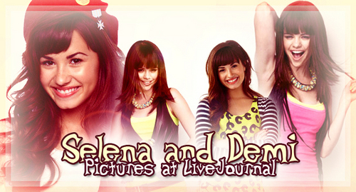 Selena Gomez and Demi Lovato - selena-gomez-and-demi-lovato Fan Art