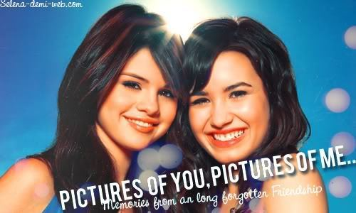 demi lovato and selena gomez in barney. Selena Gomez and Demi Lovato