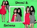 selena-gomez-and-demi-lovato - Selena Gomez and Demi Lovato wallpaper