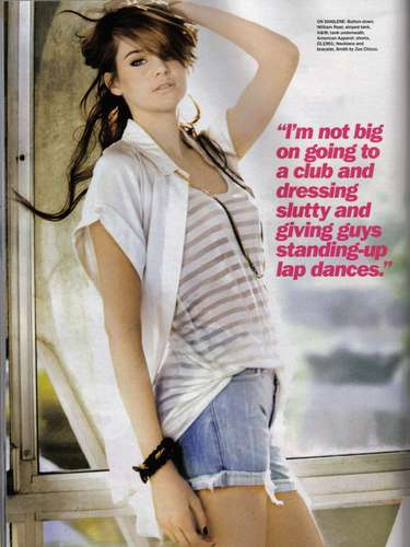 The Secret Life of the American Teenager wallpaper titled Shailene Woodley- Seventeen Magazine
