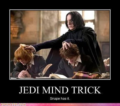 Snape has Jedi Powers