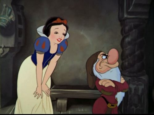 Snow White and the Seven Dwarfs wallpaper titled Snow White And The Seven Dwarfs