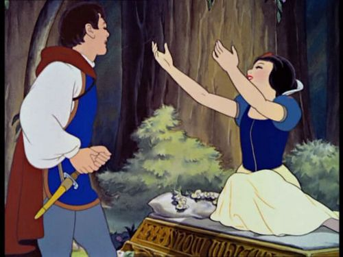 Snow White and the Seven Dwarfs wallpaper titled Snow White And The Seven Dwarfs