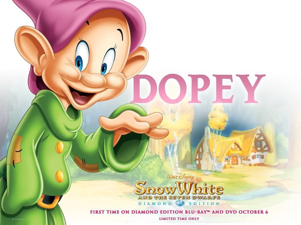 name the 7 dwarfs in snow white