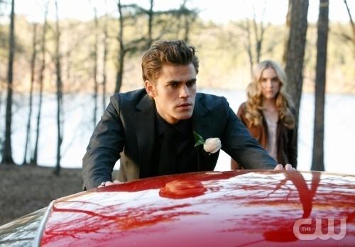 Stefan & a new girl Amber 1x19