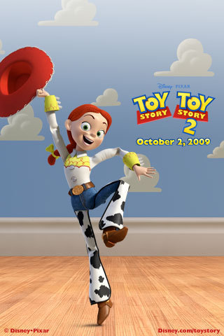 Jessie (Toy Story) wallpaper titled TS3 Promo Art