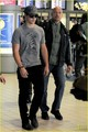 Taylor Lautner Visits France with His Father - twilight-series photo