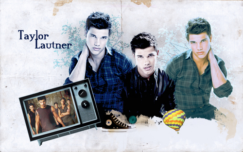 Taylor Lautner - twilight-series Wallpaper