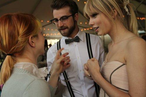 Taylor at the Josh Farro's Wedding