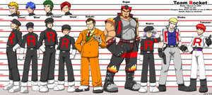 Team Rocket Lineup