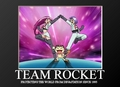 Team Rocket Motivational Poster