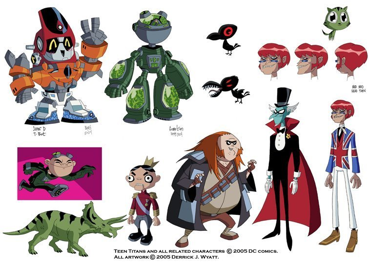 Teen Titans/Villains