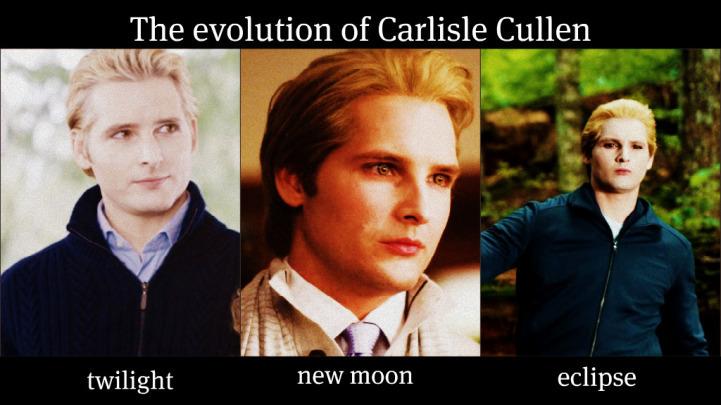 The Evolution Of Carlisle Cullen