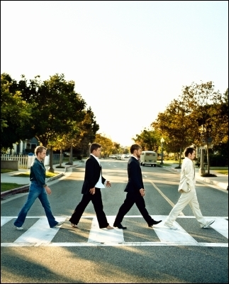 The Hobbits Imitate Abbey Road (Beatles)