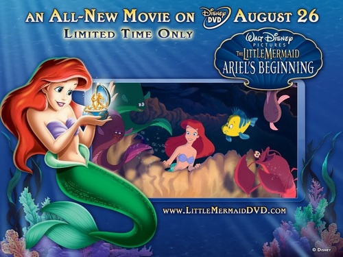 The Little Mermaid: Ariel's Beginning Wallpaper