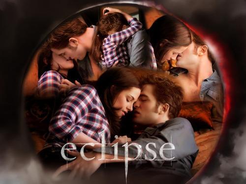 The Saga Eclipse:Edward and Bella