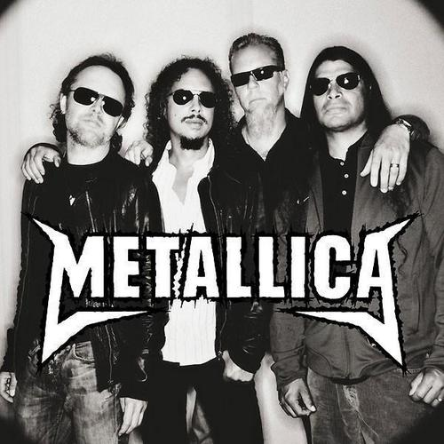 The band members of metallica