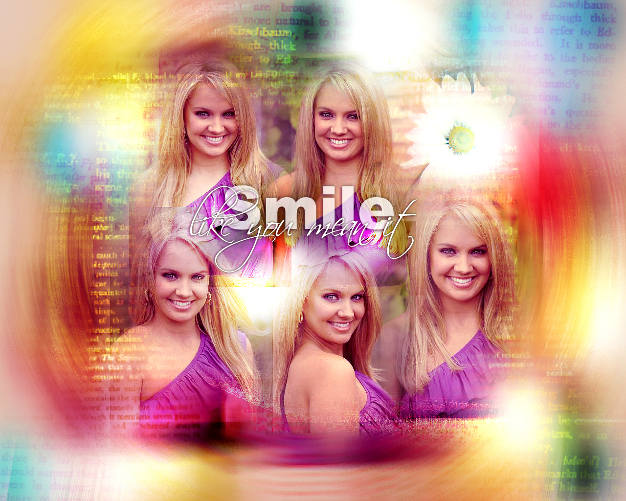 Tiffany Thornton - Wallpaper Actress