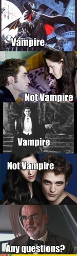 Vampires and Wanna Bes