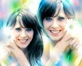Zooey Deschanel - zooey-deschanel fan art