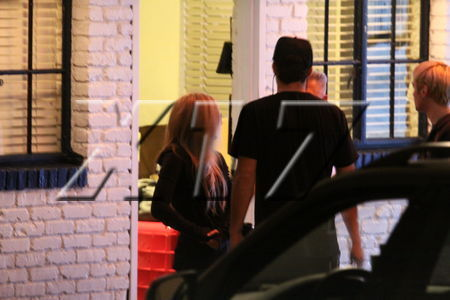avril lavigne With Brody Jenner in Hollywood, CA (April 8, 2010)