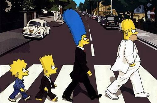 beatles simpson
