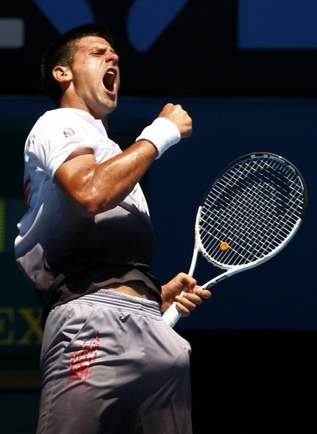Novak Djokovic djokovic big bulge !!!