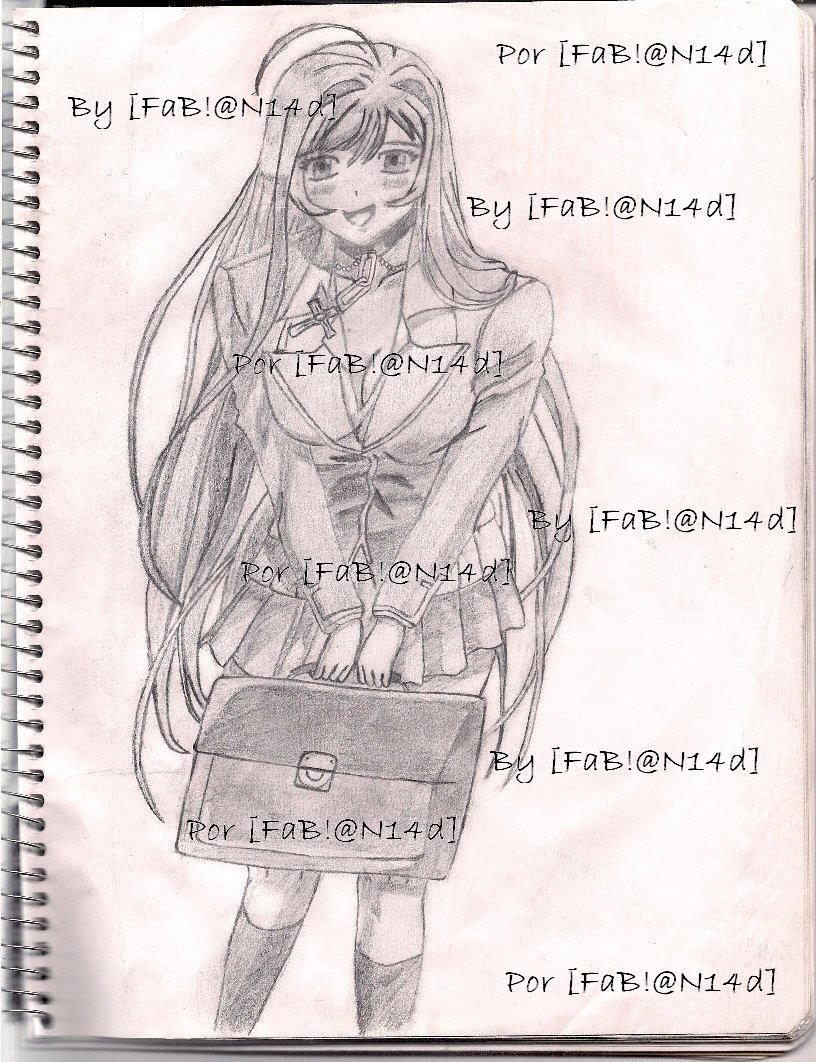Moka Akashiya Drawing Drawing Akashiya Moka With