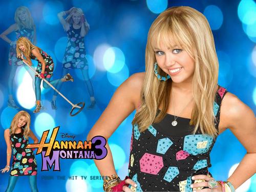 Hannah Montana wallpaper entitled hannAH MONTana