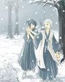 hitsugaya and hinamori <3