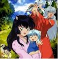 inuyasha and kagome and kids - inuyasha-and-kagome photo