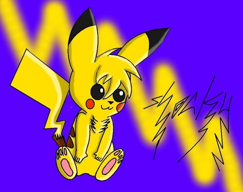 my pikachu shocky X3