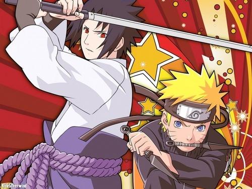Naruto achtergrond titled naruto